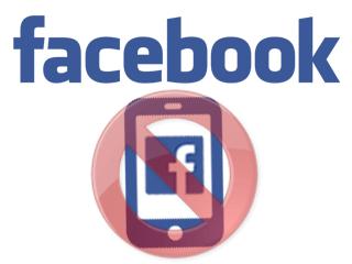 supprimer facebook sur mobile