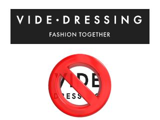 supprimer compte vide dressing