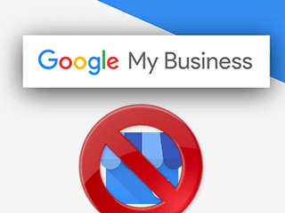 Supprimer une fiche Google My Business