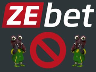 Supprimer un compte ZeBet
