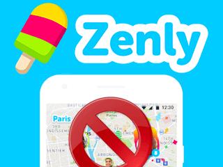 Supprimer un compte Zenly