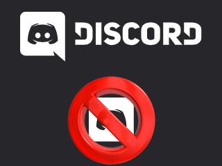 Supprimer un compte Discord