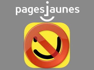 Supprimer un compte Pages Jaunes