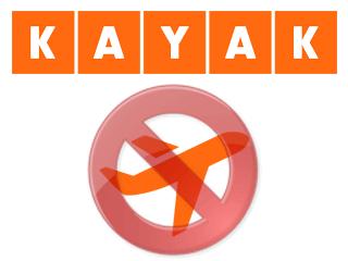 Supprimer un compte Kayak