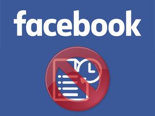 Effacer un historique de recherche Facebook