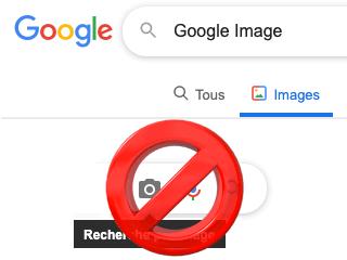 Supprimer une image sur Google