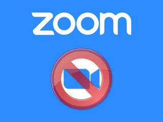 Supprimer un compte Zoom