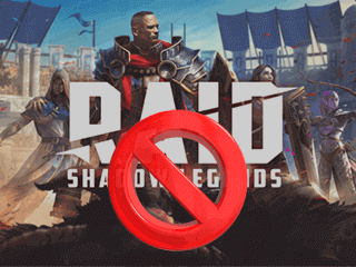 Supprimer un compte Raid Shadow Legends